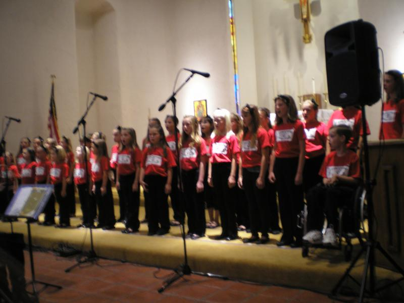 Community Youth Choir Spring 2012
